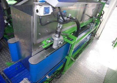 3-bed zijlader met automatische kistenvuller